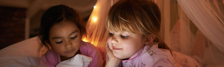 Little girls slumber party