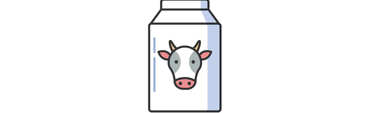 illustration of milk bottle