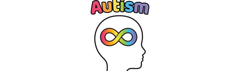 Child autism symbol