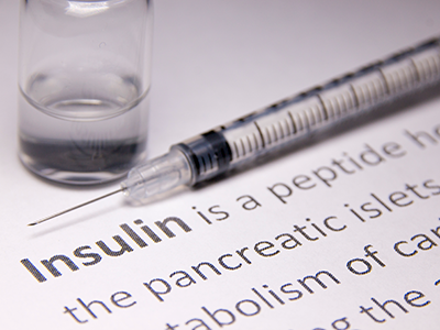 needle and definition of insulin