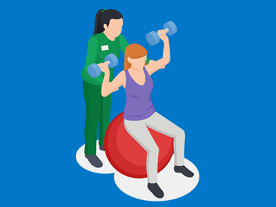 illustrations of types of physical therapy