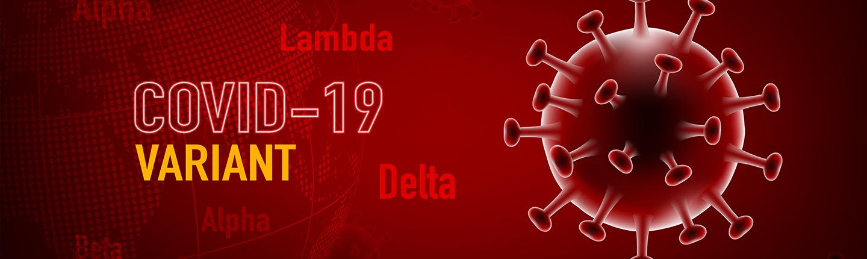 red coronavirus molecule